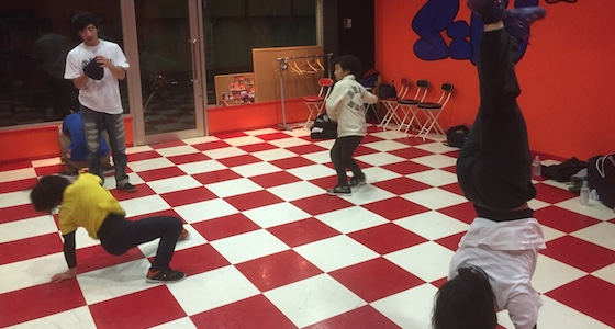 ダンスの練習場所について