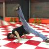 ウインドミルの時に足が曲がってしまう人におすすめな練習方法