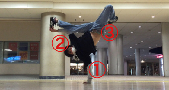 ジョーダンの練習方法と意識すべき3つのコツを解説【ブレイクダンスを代表するフリーズ】