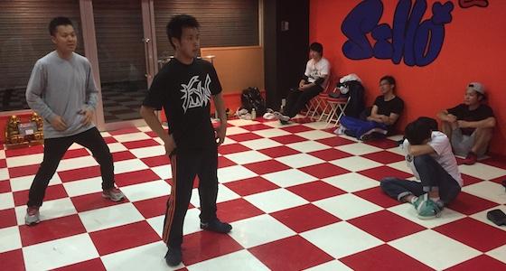 ブレイクダンス練習会2