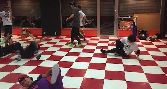 ブレイクダンス練習会3