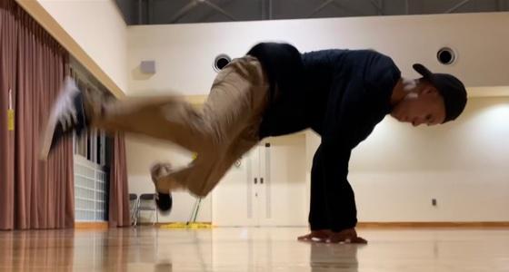 2歩からチェアへ繋ぐ方法(おまけ:脚の回転数を増やす繋ぎ方)