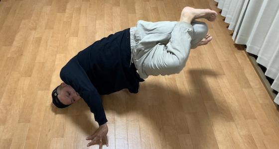 フットワークからチェアへ繋ぎをかっこよく見せる方法【腰を上手く回転させる練習】